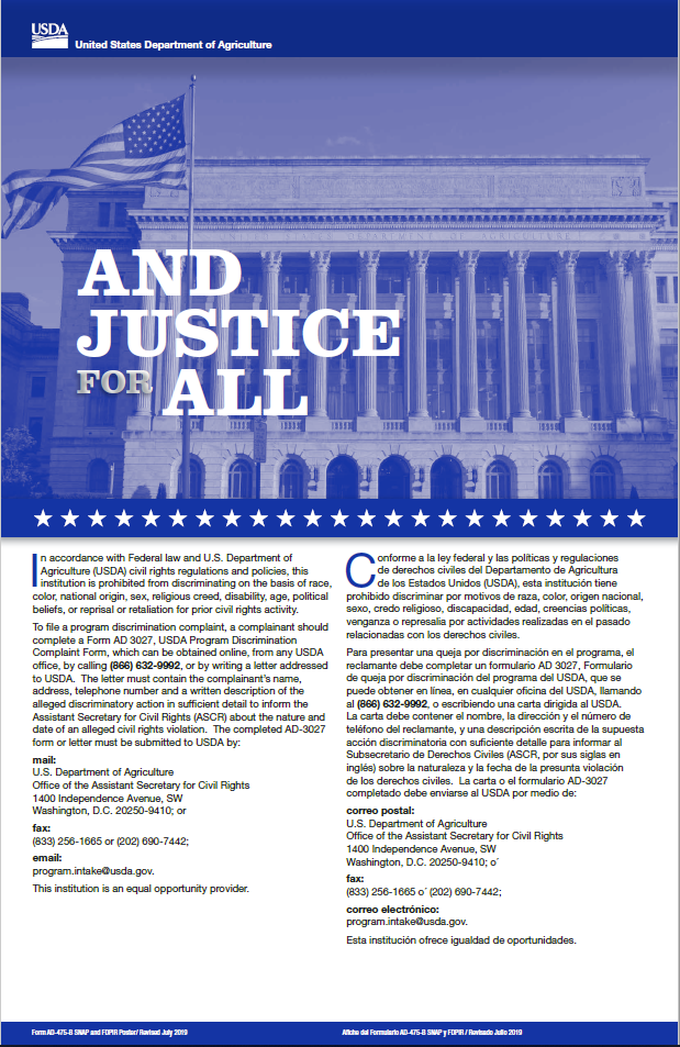 AndJustice For All Poster